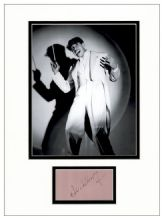 Cab Calloway Autograph Signed Display